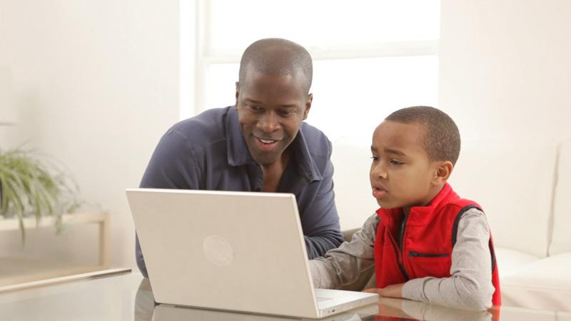 tutor and child